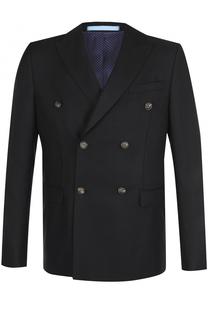 Двубортный шерстяной пиджак Sand