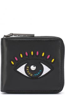 Кожаный кошелек Eye Kenzo