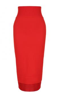Юбка-карандаш с завышенной талией Givenchy