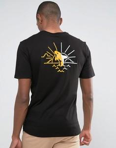 Черная футболка с принтом кита Nike SB 852782-010 - Черный