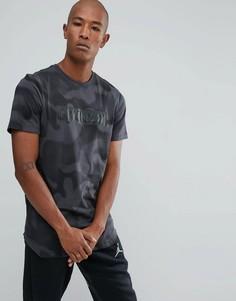 Черная камуфляжная футболка Nike Jordan 864925-060 - Черный