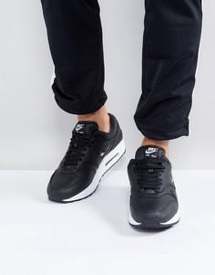 Черные кроссовки Nike Air Max 1 Jewel 918354-001 - Черный