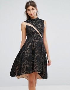 Короткое приталенное платье из кружева Forever Unique - Мульти