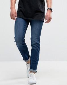 Темные узкие эластичные джинсы Loyalty and Faith Pillar - Синий