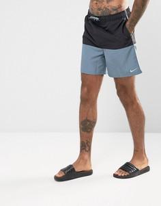 Черные короткие шорты для плавания Nike NESS7427001 - Черный