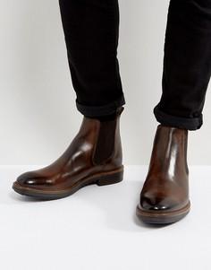 Кожаные ботинки челси Base London Dalton - Коричневый