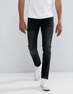 Черные выбеленные джинсы узкого кроя Loyalty and Faith - Черный