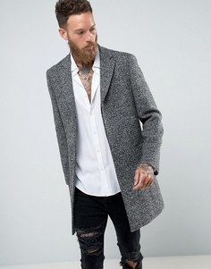 Фактурная куртка из шерсти Rudie Epsom - Серый