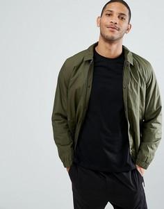 Теплая спортивная куртка Selected Homme - Зеленый