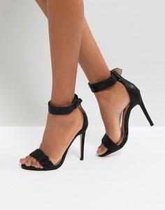 Черные сандалии на каблуке Lost Ink Becca - Черный