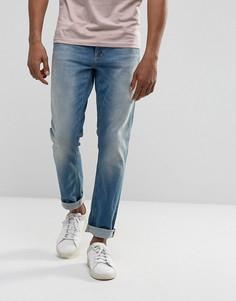Синие зауженные джинсы Nudie Jeans Co Lean Dean - Синий