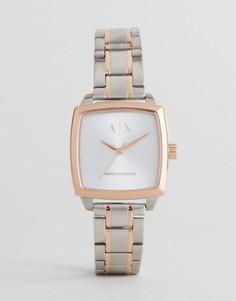 Часы из разных металлов Armani Exchange AX5449 - Серебряный
