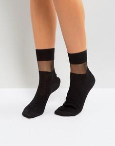 Черные носки Jonathan Aston Fame - Черный