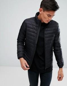 Стеганая куртка с наполнителем из натурального пуха Esprit - Черный