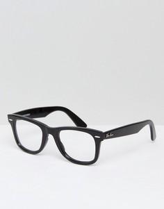 Очки-клабмастеры Ray-Ban RX4340V - Черный