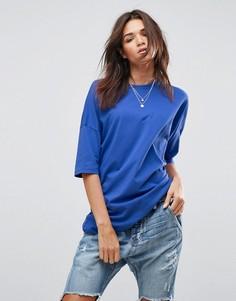 Oversize-футболка ASOS - Синий