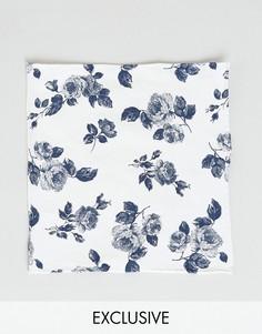 Платок для нагрудного кармана Noose & Monkey - Белый