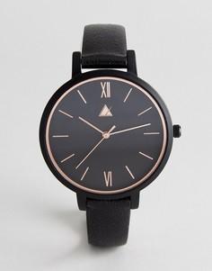 Золотисто-розовые часы ASOS CURVE - Черный