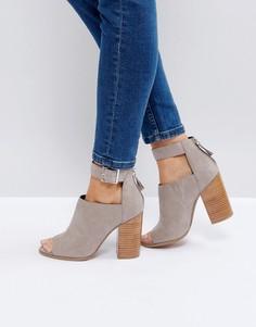 Туфли на каблуке ASOS ORLA - Серый