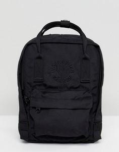 Черный маленький рюкзак Fjallraven Re-Kanken - Черный