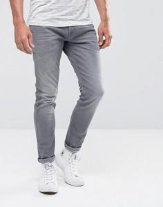 Эластичные зауженные джинсы Esprit - Серый