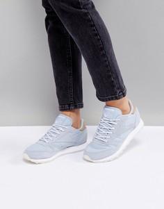 Кожаные кроссовки Reebok Classic - Синий