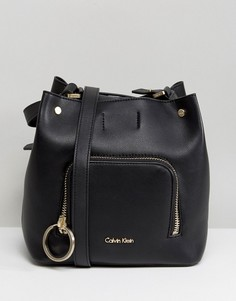 Сумка-мешок Calvin Klein - Черный