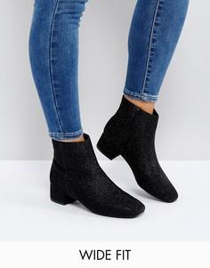 Ботинки челси для широкой стопы New Look - Черный