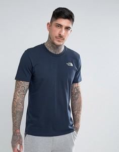 Темно-синяя футболка The North Face Simple Dome - Темно-синий