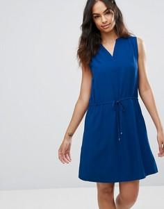 Свободное платье Tommy Hilfiger Denim - Темно-синий