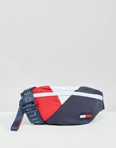 Сумка-кошелек на пояс в стиле ретро с логотипом Tommy Hilfiger - Мульти