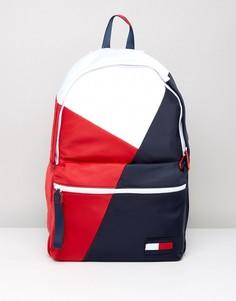 Рюкзак в стиле ретро с логотипом Tommy Hilfiger - Мульти
