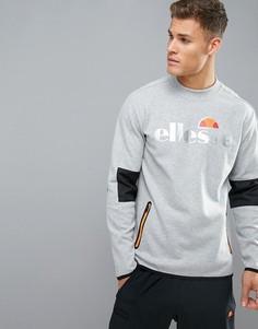 Спортивный свитшот с сетчатыми вставками Ellesse - Серый