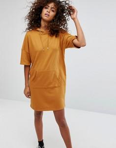 Платье-футболка Noisy May - Коричневый