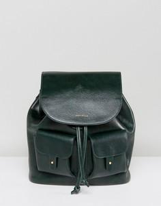 Маленький рюкзак из искусственной кожи с карманами Jack Wills - Зеленый