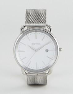 Часы Breda Linx - Серебряный