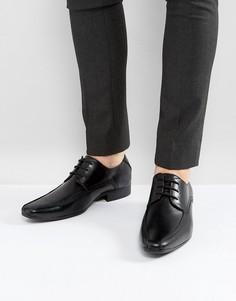 Черные туфли на шнуровке New Look - Черный