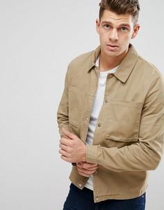 Светло-коричневая куртка-рубашка New Look - Рыжий