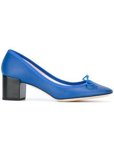 туфли-лодочки на толстом каблуке Repetto