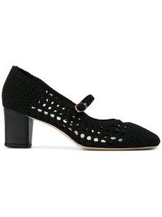 трикотажные туфли-лодочки с заостренным носком Repetto