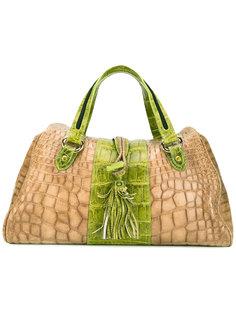 сумка-тоут с кисточкой Giorgio Armani Vintage