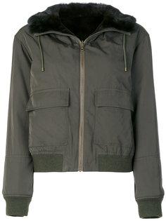 куртка на молнии  Army Yves Salomon