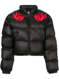 дутая куртка с аппликацией  Marcelo Burlon County Of Milan