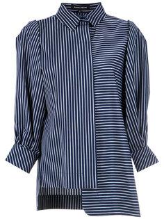 asymmetric striped shirt Gloria Coelho