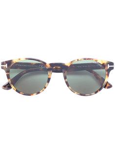 солнцезащитные очки в округлой оправе Tom Ford Eyewear