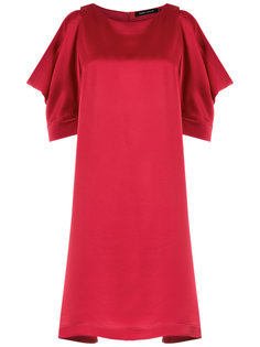 draped sleeves dress Gloria Coelho