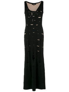 cut out details gown Gloria Coelho