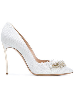 декорированные туфли Perfect Pump Casadei