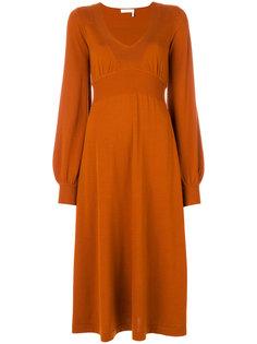 трикотажное платье Chloé