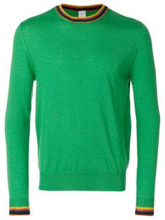 свитер с контрастной окантовкой Paul Smith